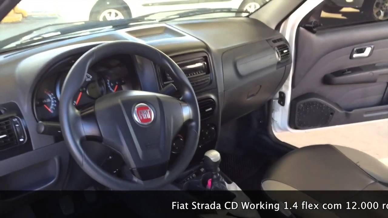 vendido fiat strada cd working 1.4 flex 2013 - youtube