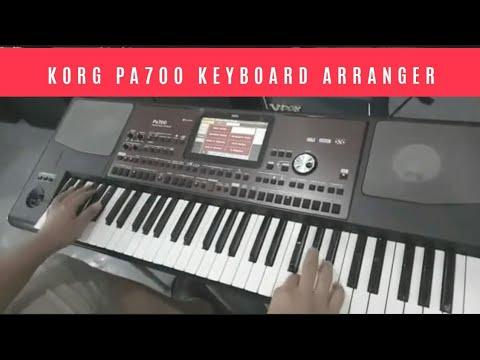 Korg PA-700 Keyboard Arranger Demo