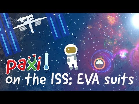 Paxi on the ISS: EVA suits