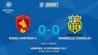 Rodez vs Marseille Consolat full match