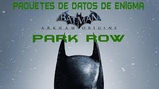 Batman : Arkham Origins - Paquetes de datos de Enigma en Park Row