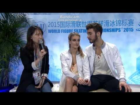 WC2015 Winners Interview Gabriella PAPADAKIS / Guillaume CIZERON