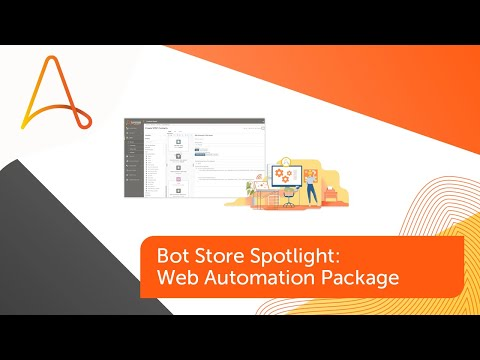 Bot Store Spotlight – Web Automation Package