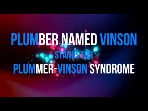 Triad of Plummer-Vinson Syndrome