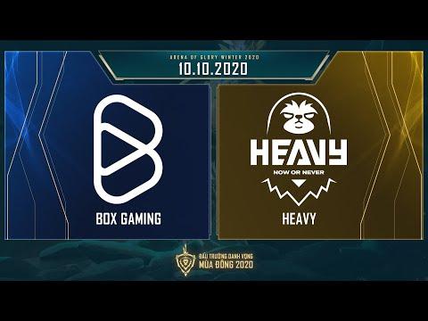 BOX Gaming vs HEAVY | BOX vs HEV - Vòng 13 ngày 1 [10.10.2020] - ĐTDV mùa Đông 2020