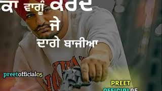 LIFESTYLE SONG BY SIDHU MOOSEWALA FOR STATUS