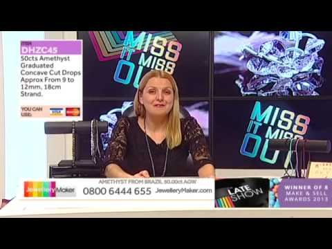 The Late Show on JewelleryMaker LIVE 23/01/2015