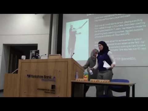 Muslim Women in Sport - Dana Abdel Karim at Leeds ISOC