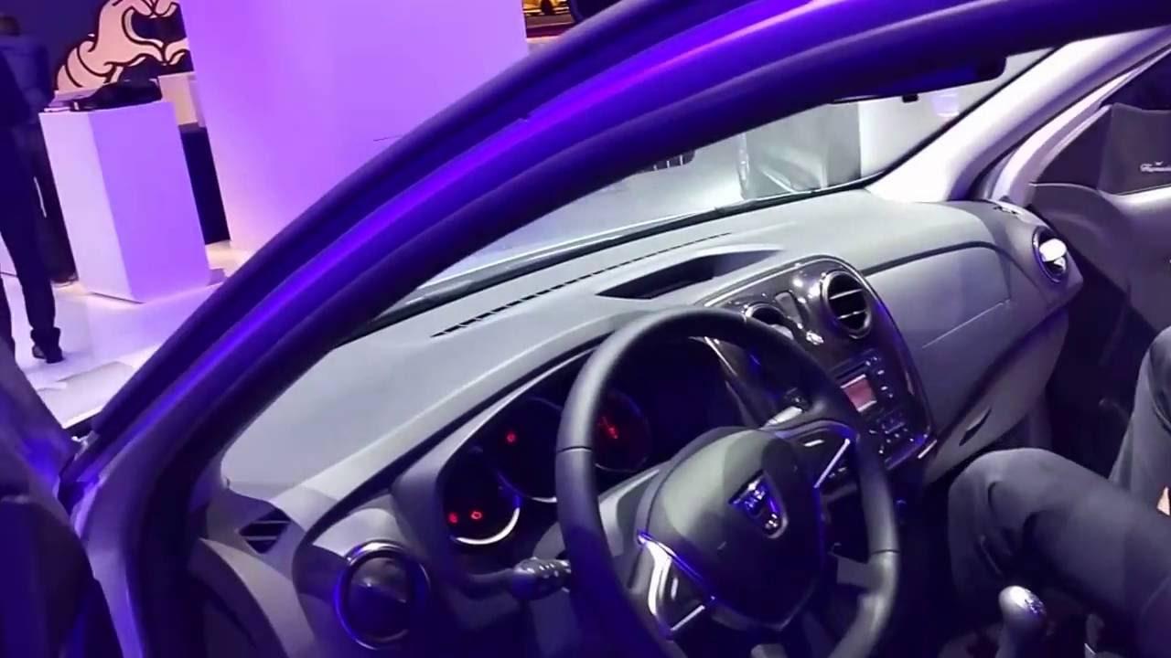 Обновленный Dacia/Renault Logan 2016 2017 Парижский автосалон (live)