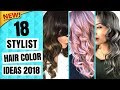 Winter 2018 Hair Color Trends | 18 New Hair Color Ideas