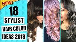 Winter 2018 Hair Color Trends   18 New Hair Color Ideas