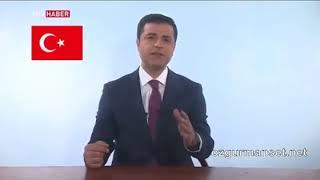 Selahattin Demirtaşın TRT konuşması   17 Haziran 2