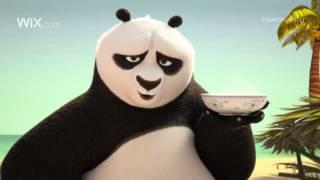 Super Bowl 2016 - рекламный ролик Wix с Кунг-фу Пандой