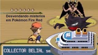 Desvendando Misterios em Pokémon Fire Red!