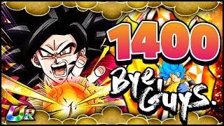 Dragon Ball Z: Dokkan Battle - #38 - 1400 Steine/Stones (Super Saiyajin 4 Goku Dokkan Festival)