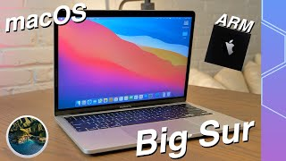 macOS Big Sur Hands on First Look! The Future of ARM Macs