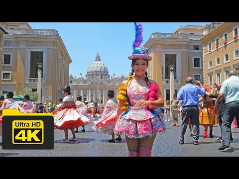 4K Vatican City Travel Guide, Carnival Festival Scene, Best Top Attractions,
