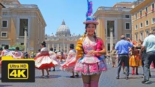 4K Vatican City Travel Guide, Carnival Festival Scene, Best Top Attractions,