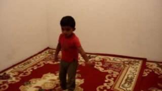 two year old Ayan dancing to kathala kannala