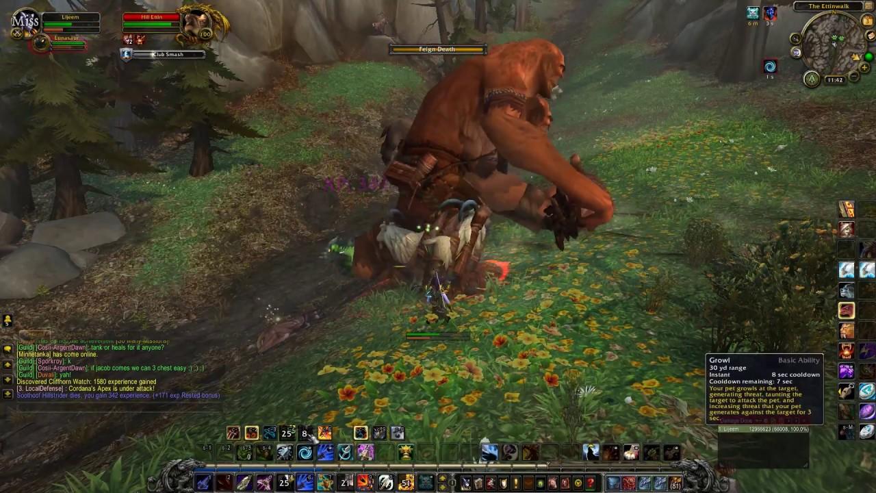 Wow Hunter Gameplay 2017 World Of Warcraft Legion 2017 Gameplay Youtube