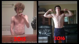 Incredible 1 Year Body Transformation! - Bar Brothers AU (Calisthenics)