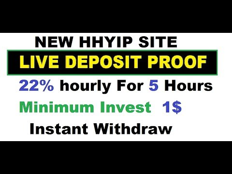 Hyip no minimum deposit best gambling dvd