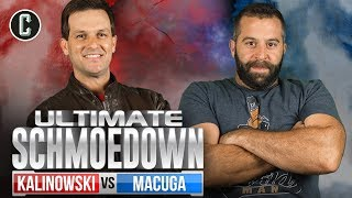 Mike Kalinowski VS Josh Macuga - Movie Trivia Ultimate Schmoedown Singles Tournament - Round 1