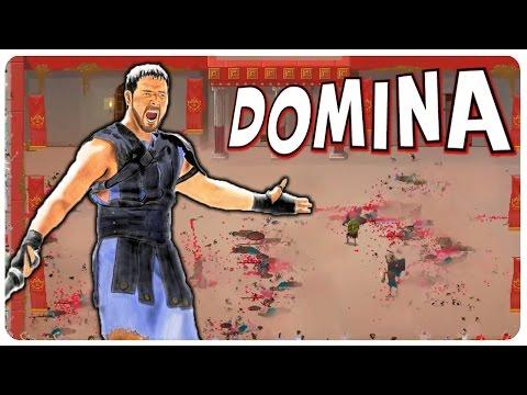 Domina Game - Run Your Own Roman Gladiator Tournament! | Domina Gameplay
