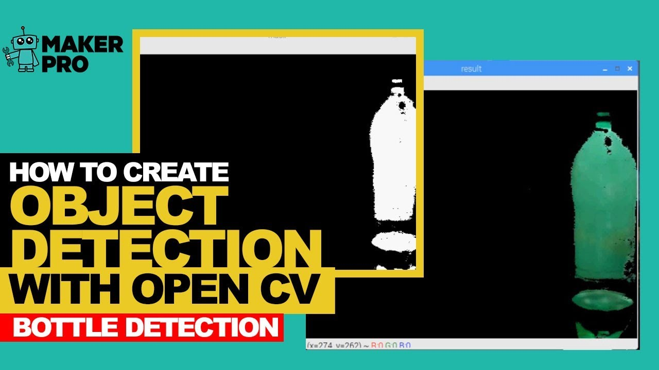 How to Create Object Detection With OpenCV - Bottle Detection