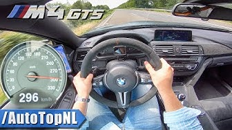 BMW M4 GTS F82 500HP 296km/h AUTOBAHN POV (NO SPEED LIMIT) by AutoTopNL
