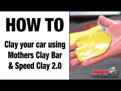 How to clay your car using Mothers Clay bar and Speed Clay 2.0