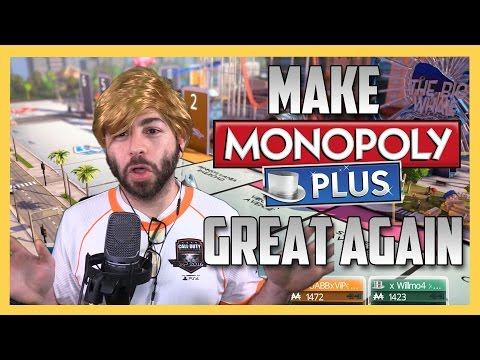 """Make Monopoly Great Again - """"AMERICA FIRST"""" Trump Edition (AUDIO FIXED)"""