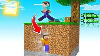 $3,000,000,000 Hide and Seek in Sky Block! (Minecraft)