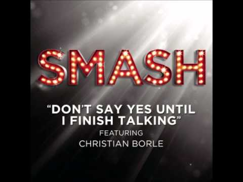 Smash - Don't Say Yes Until I Finish Talking (DOWNLOAD MP3 + Lyrics)