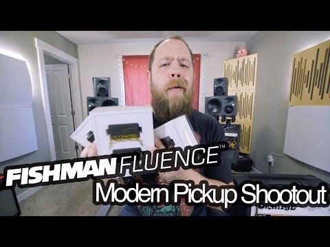 Fishman Fluence Modern Pickup Shootout!
