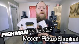 Today we shootout the bridge pickups of the Fishman Fluence Modern ...