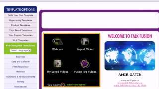 Видео урок: создание видео-письма Talk fusion 2013(, 2013-06-29T09:21:25.000Z)