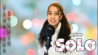 Download JENNIE (BLACKPINK) - SOLO (Cover)   VARALIKA STUDIO
