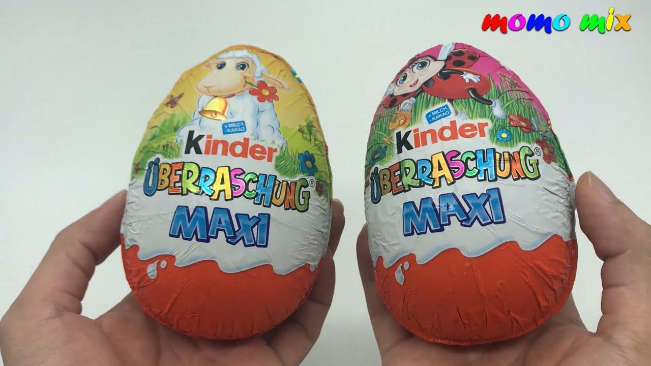 🔴 2 x Big Kinder Surprise Egg   Miraculous Ladybug Toys