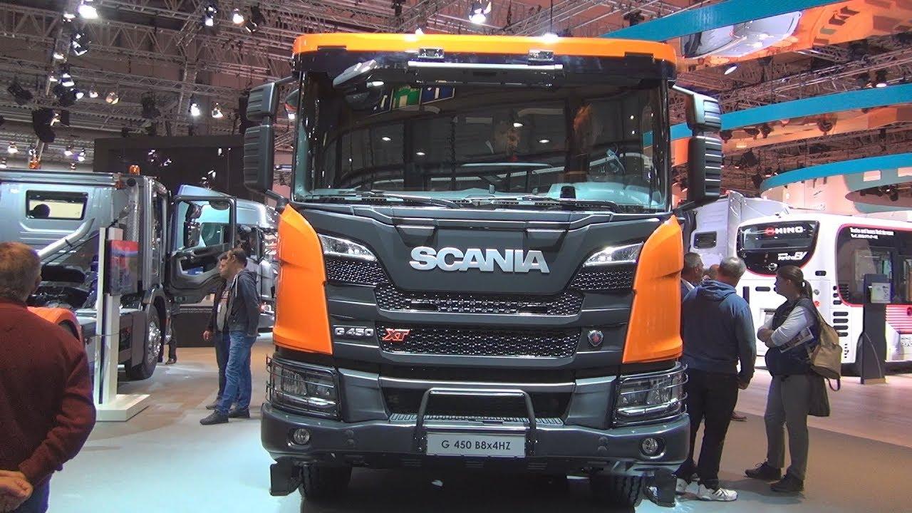 Scania Xt G 450 B8x4hz Tipper Truck 2019 Exterior And
