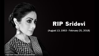 Bolloywood queen sri devi died today due to heart attack