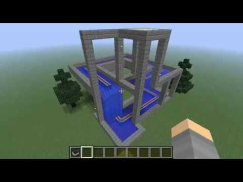 Minecraft Impossible Waterfall YouTube
