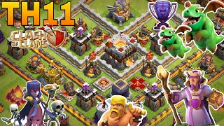 Th11 trophy base 2018/coc th11 trophy pushing base 2018/legend base/clash of clan
