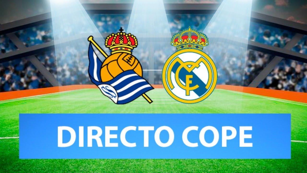 (SOLO AUDIO) Directo del Real Sociedad 0=0 Real Madrid en Tiempo de Juego COPE