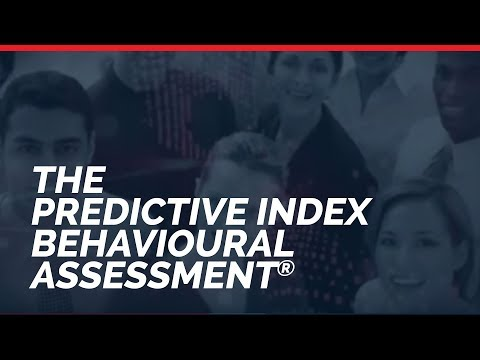The Predictive Index Behavioural Assessment