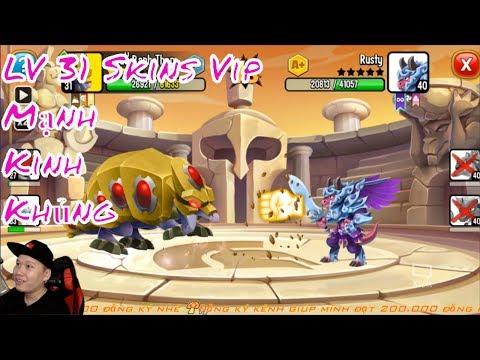 ✔️Rồng Bánh Đa Skins Xinh Đẹp HNT Chơi Game Nông Trại Rồng HNT Channel New