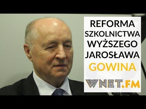 Prof. Seweryński u Gadowskiego: Widzę istotne wady w reformie szkolnictwa wyższego Gowina