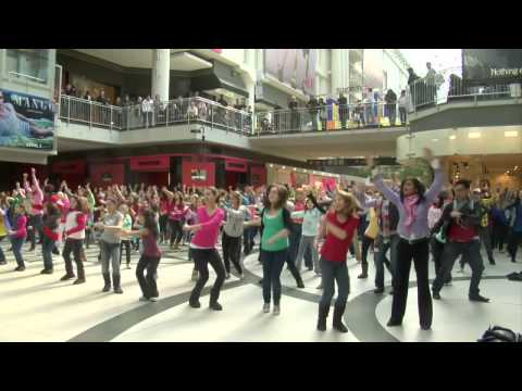 I Believe She's Amazing Flash Mob - Toronto Eaton Centre