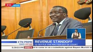 CJ Maraga says Supreme Court reluctant to intervene in the Division of Revenue Bill impasse