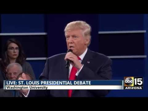 Presidential Debate - Extreme vetting immigration - Hillary Clinton vs. Donald Trump